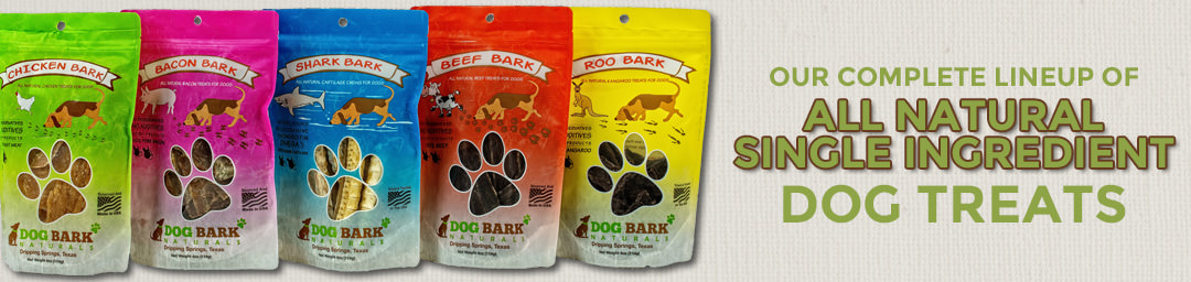 Dog Bark Naturals - Products